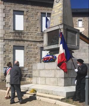 Chambon-sur-Lignon : pas de public mais des haut-parleurs pour la commémoration