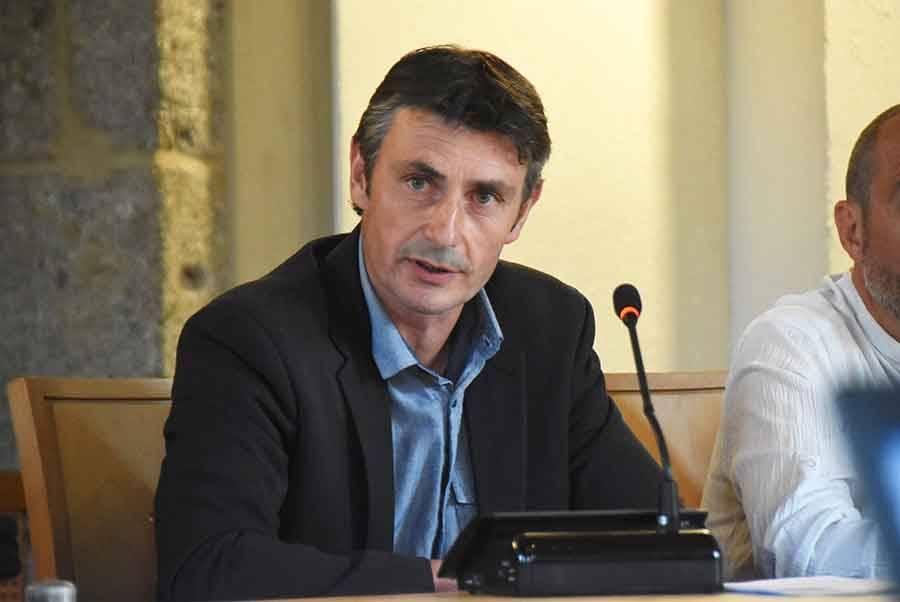Bruno Marcon, maire de La Séauve-sur-Semène.