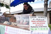 Saint-Jeures : une jolie journée bio et terroir victime d'une météo chagrine