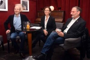 Willy Guieau, Catherine Granier-Chevassus et Jean-Williams Semeraro
