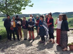 Fay-sur-Lignon : joyeuse alchimie pour la 3e rando chantante de la Caravelle