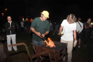 La Séauve-sur-Semène : chaude ambiance pour la Nuit du feu