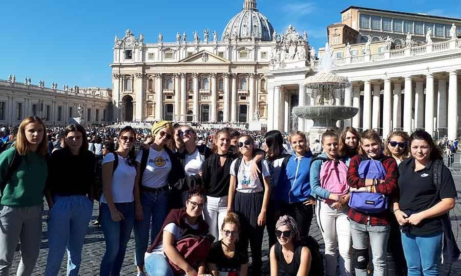 Yssingeaux : des lycéennes d'Eugénie-Joubert à Rome