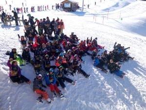 Aurec-sur-Loire : une classe de neige pour des collégiens de Notre-Dame-de-la-Faye