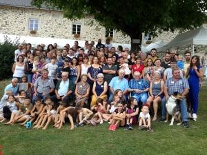 Saint-Julien-du-Pinet : les descendants d'André et Amélie Margerit en cousinade