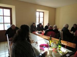 """Roche-en-Régnier : la galette des Rois partagée à """"Mans"""""""