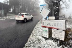La neige fera son retour à partir de mardi en Haute-Loire