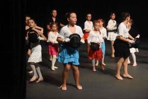 Saint-Agrève : cinquante danseuses s'en donnent à coeur joie