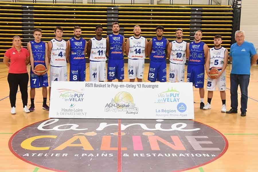 Basket : l'ASM Le Puy se donne trois ans pour monter en Nationale 1
