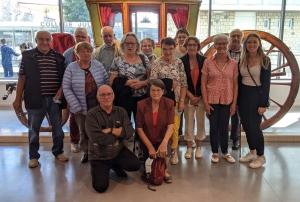 Une visite du musée Crozatier pour les usagers de Mieux Vivre à Chadrac