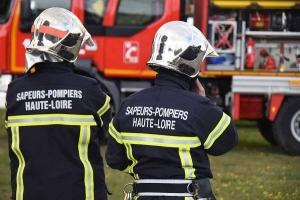 Monistrol-sur-Loire : une voiture prend feu sur la RN88