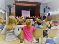 Les écoliers de Saint-Jeures, Fay, Les Vastres et Laussonne sur les planches