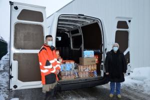 Saint-Just-Malmont : 200 kg de denrées livrées à la Banque Alimentaire