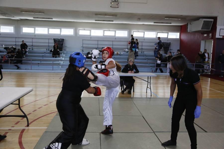 Full-contact : Omnia Khalil (Athlétic-Club du Puy) championne régionale et qualifiée pour les championnats de France