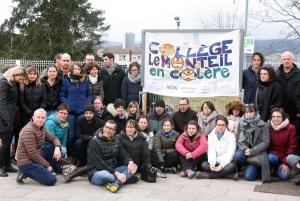 Monistrol-sur-Loire : les enseignants du collège du Monteil de nouveau en lutte