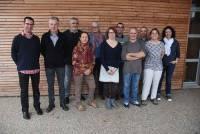 Les organisateurs du collectif Fêtes rurales.