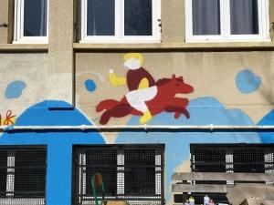 Yssingeaux : du street art mené par des élèves à Saint-Gabriel
