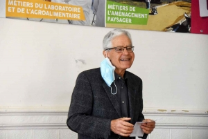 Georges Assezat, président de l'ISVT