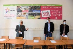Georges Assezat, François Petavy et Christophe Fourcade
