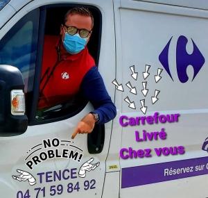 Un an de livraison de courses offert au Carrefour Market de Tence