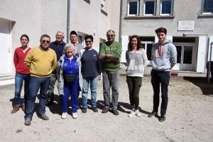 Fanny Jamon (2e en partant de la droite) est la nouvelle directrice