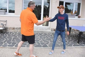 Guillaume Chazot retrouvera Romain Bardet mardi 23 juin.