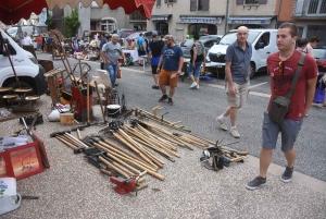 Yssingeaux : 150 exposants sur le vide-greniers, 2 groupes pour Interfolk