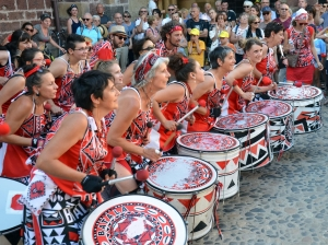 Le groupe de percussions samba-reggae Batala Massif recrute