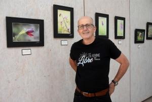 Retournac : Thierry Chamblas s'est mis à la macrophotographie et expose ses photos