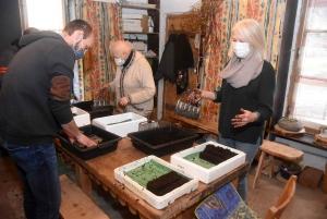 Les Villettes : l'association Funambulle fait pousser un jardinage équilibré