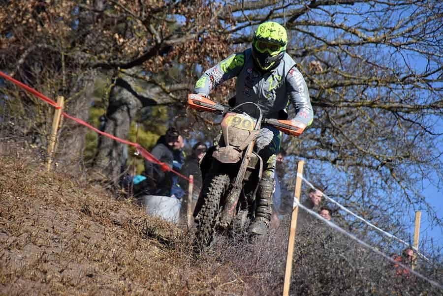 Moto enduro : Julien Gauthier attaque fort dans l'Emblavez