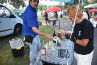Tence : un marché de producteurs et d'artisanat pendant le tournoi de tennis