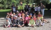 Le Chambon-sur-Lignon : les écoliers, de la petite balle jaune à la petite bête
