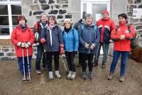 Saint-Front : 200 randonneurs sans raquette mais sous la neige à la Draille blanche