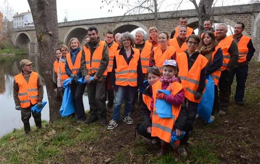 Lavoûte-sur-Loire : 6 m3 de déchets récupérés sur les bords de Loire