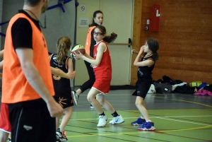 Grazac : premier tournoi de basket pour les U11
