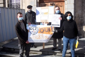 Le Mouvement Constituant Populaire en action à Vorey et au Puy-en-Velay