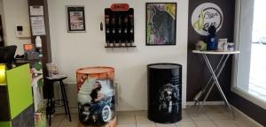 Monistrol-sur-Loire : Mart Custom expose ses peintures à l'aérographe
