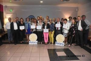 Le Rotary est généreux pour les actions locales comme nationales