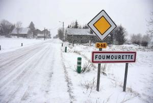 La D15 à Foumourette
