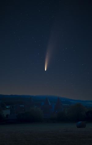 Saint-Beauzire : quand la comète fonce sur le château de Lespinasse