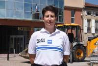 Alexia Conte est la première policière municipale de Retournac.