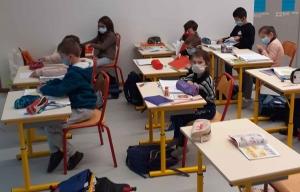 Dunières : les élèves de Jacques-Prévert de retour dans leur école