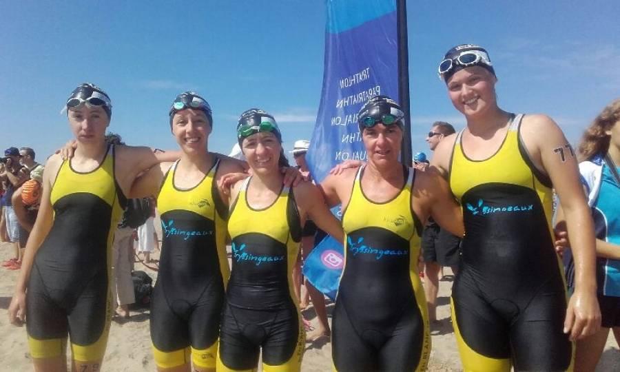 Triathlon : les Yssingelaises décrochent leur maintien en Division 2