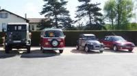 Pont-Salomon : les Autos Pépères prennent place dans d'autres mécaniques anciennes