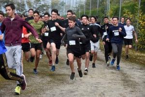 Cross des lycées d'Yssingeaux : les cadets