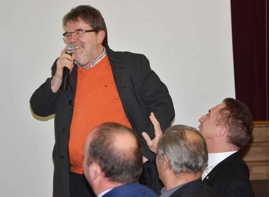 Bernard Gallot, président des Sucs.