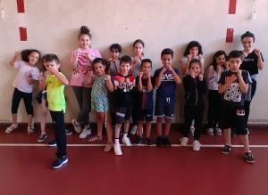 Puy-en-Velay: on s'initie à la boxe française à Guitard et au Val-Vert