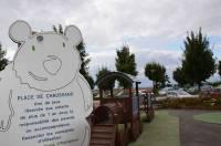 C'est à Chaussand à la place des  jeux d'enfants et du parking que la maison de santé sera bâtie.