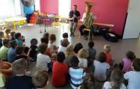 Retournac : des instruments à vent à l'école de Charrées